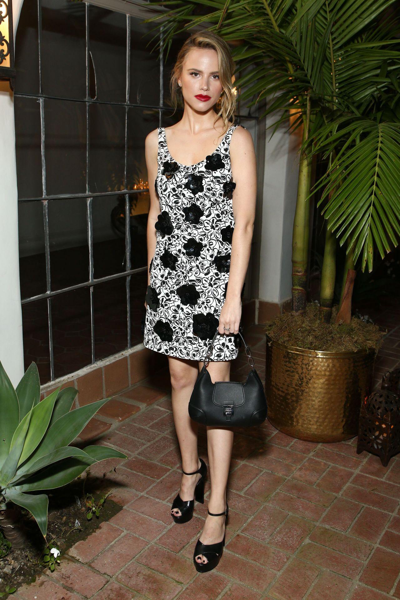 Halston Sage - Michael Kors x Kate Hudson Dinner in LA 11