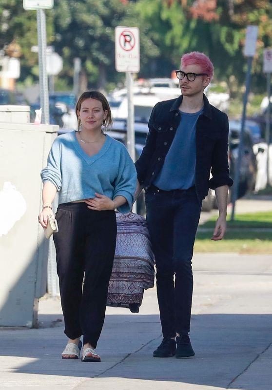 Hilary Duff and Matthew Koma Out in LA 11/18/2018