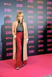 "Isabella Ferrari - ""Baby"" TV Series Photocall in Rome"