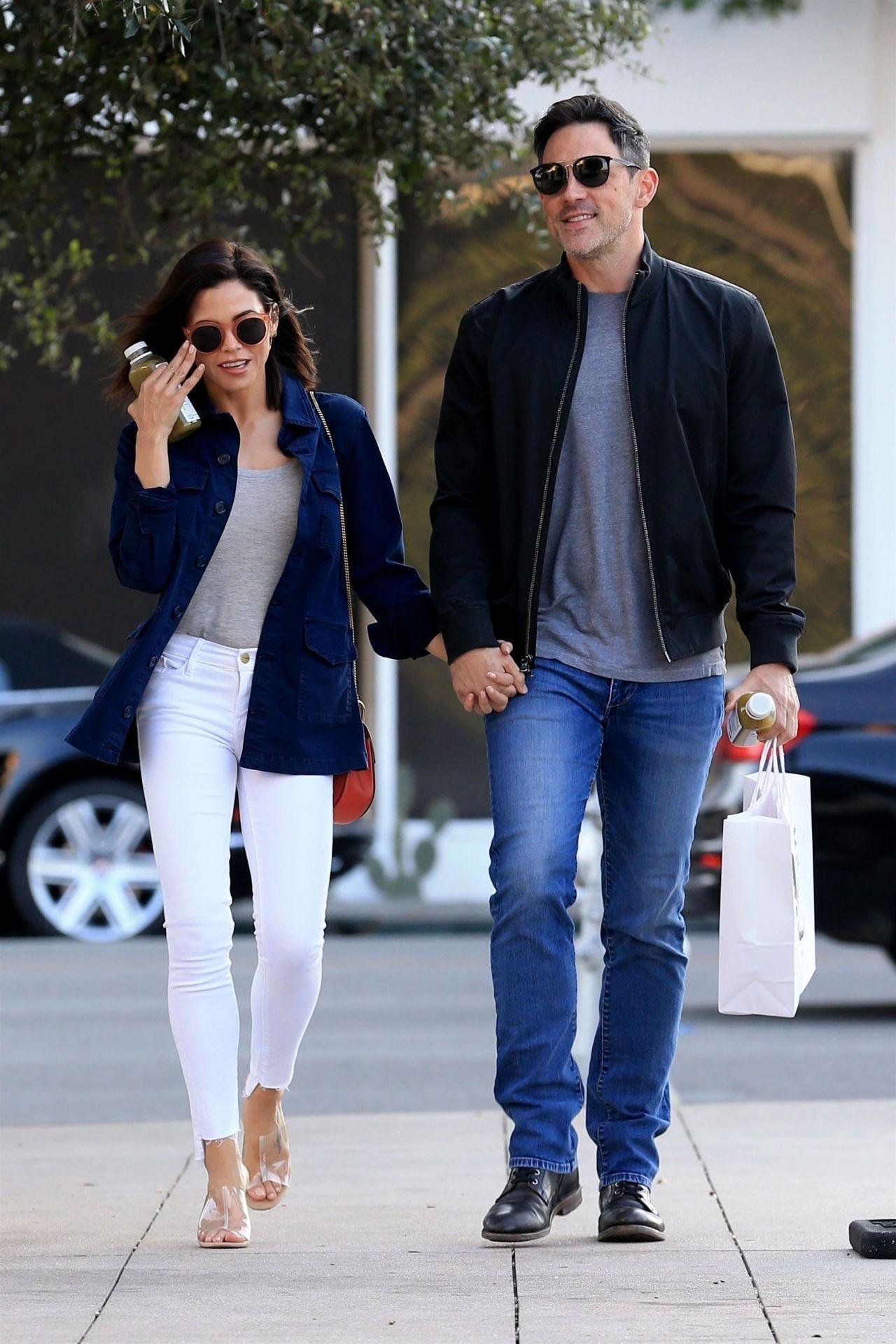 Jenna Dewan and Her New Boyfriend Steve Kazee at Pressed