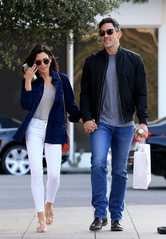 Jenna Dewan and Her New Boyfriend Steve Kazee at Pressed Juicery in Beverly Hills, November 2018