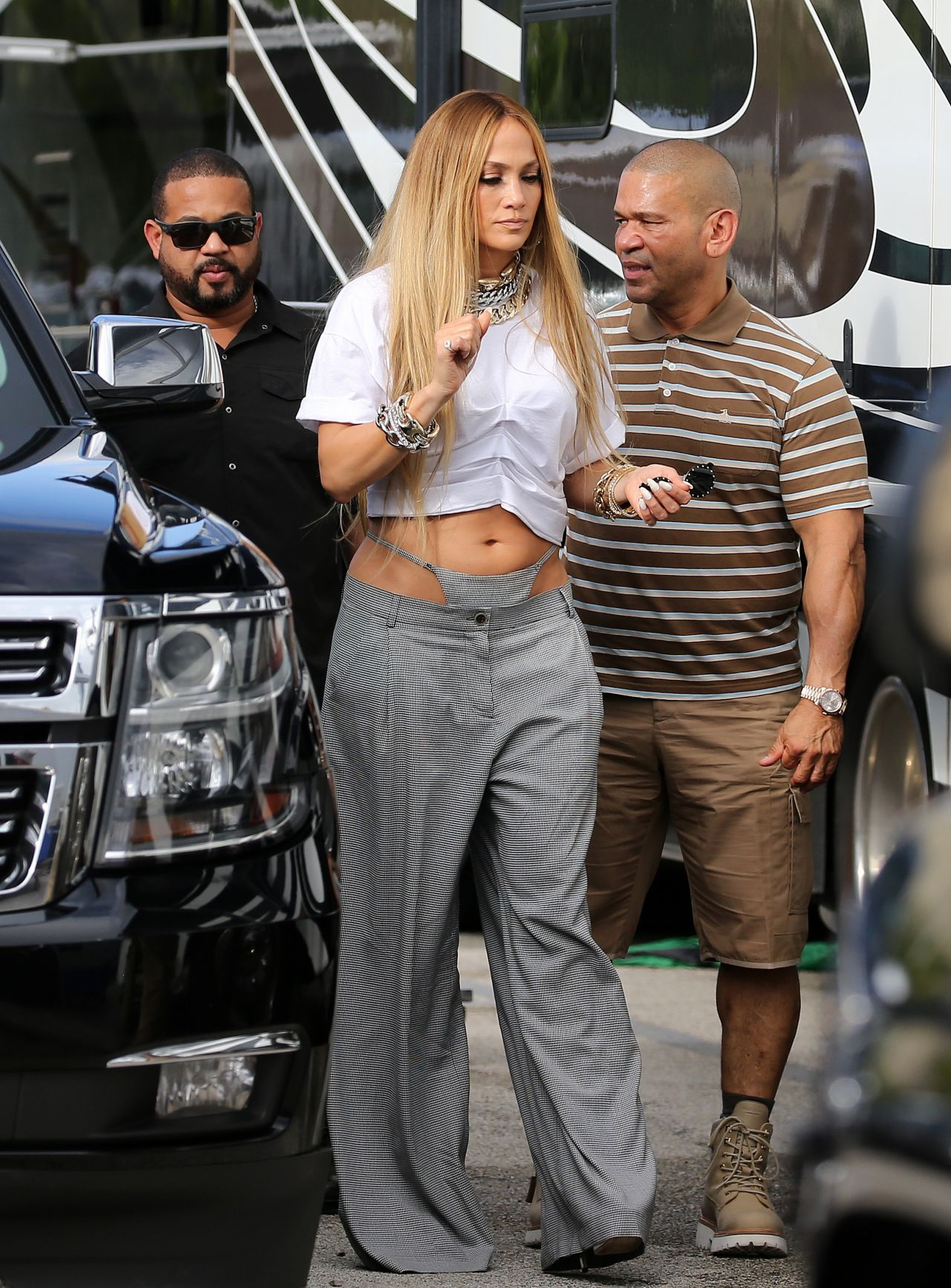 Jennifer Lopez Shooting A Video In Miami 11 15 2018