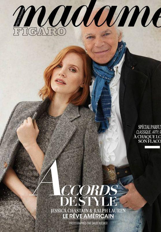 Jessica Chastain and Ralph Lauren - Madame Figaro11/30/2018
