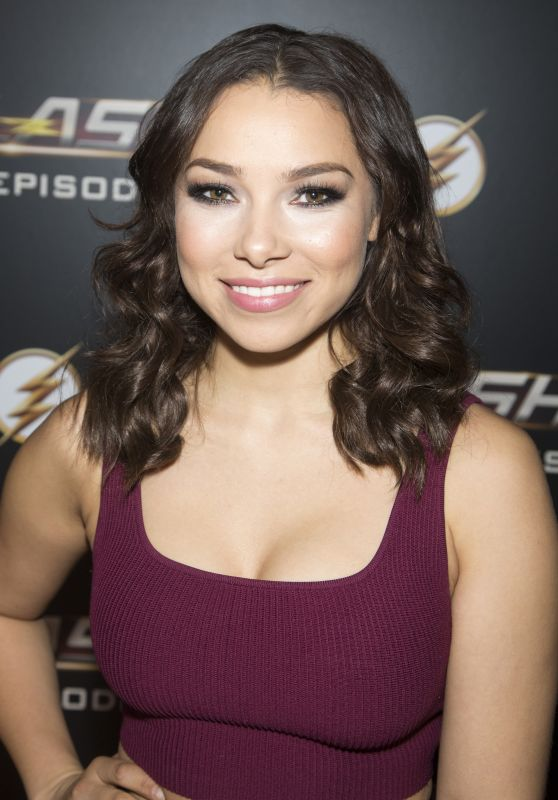 "Jessica Parker Kennedy - ""The Flash"" 100th Episode Celebration"