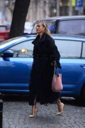 Joanna Krupa Fall Style - Warsaw 11/25/2018