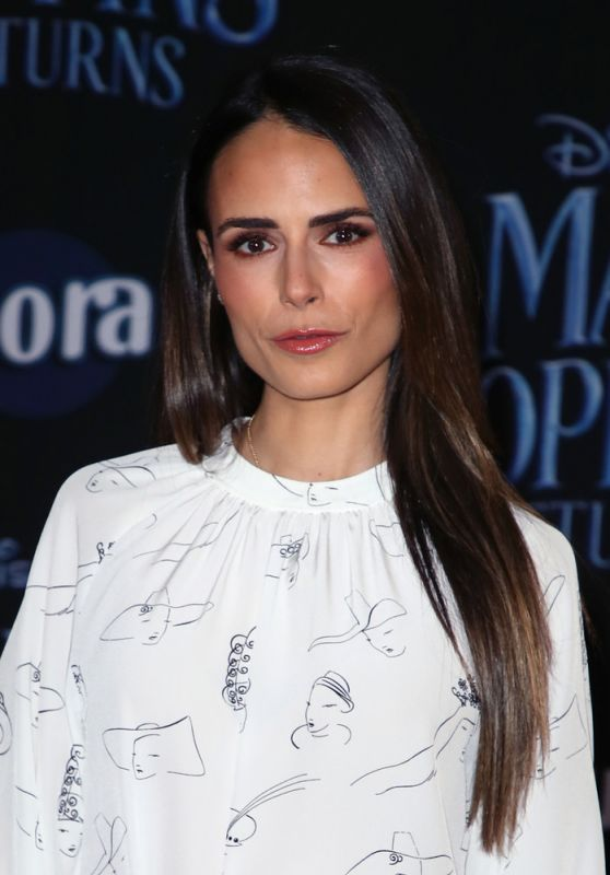 "Jordana Brewster – ""Mary Poppins Returns"" Premiere in LA"