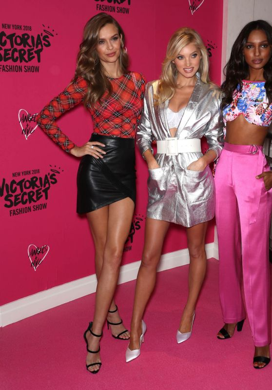 Josephine Skriver, Elsa Hosk and Jasmine Tookes - VS Shop The Show Event in NYC 11/29/2018