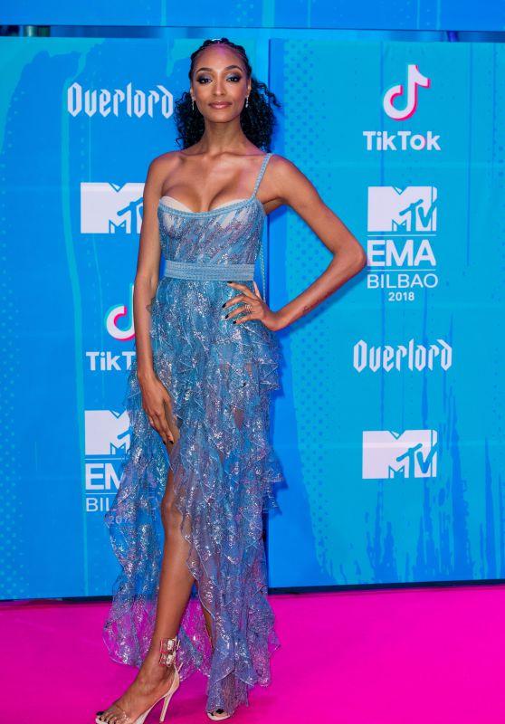 Jourdan Dunn – MTV EMA's 2018 in Bilbao