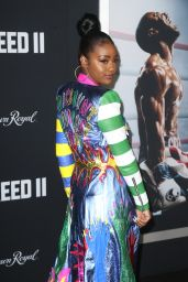 "Justine Skye – ""Creed II"" World Premiere in New York"