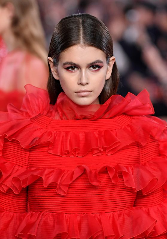 Kaia Gerber - Walks Valentino TKY 2019 Pre-Fall Collection in Tokyo