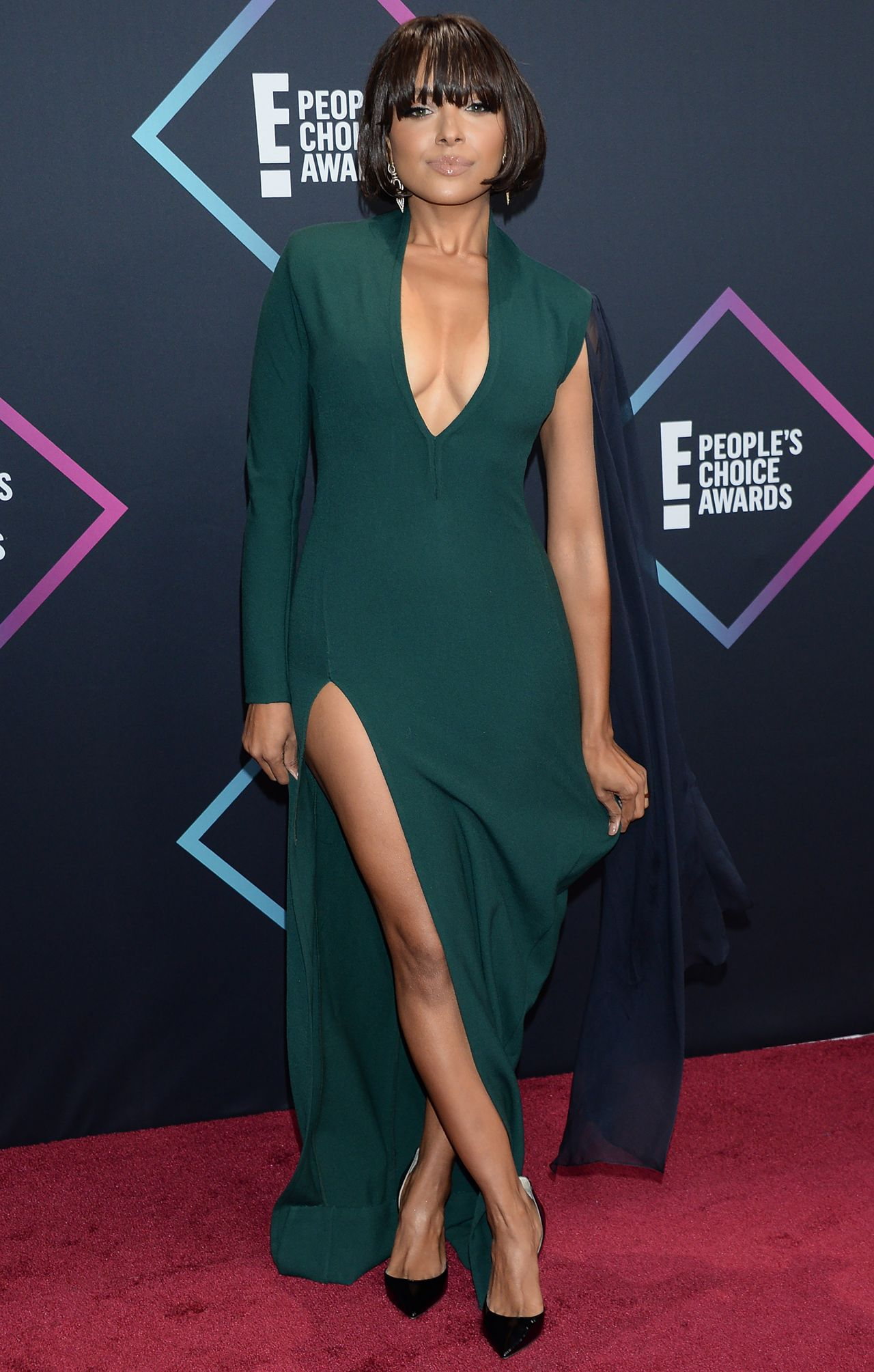 kat graham choice awards carpet peoples posted
