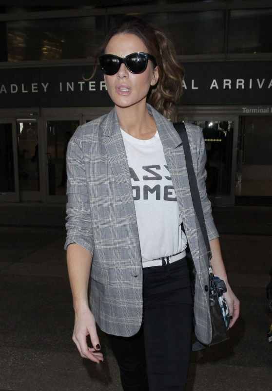 Kate Beckinsale - Outside LAX Airport 11/07/2018