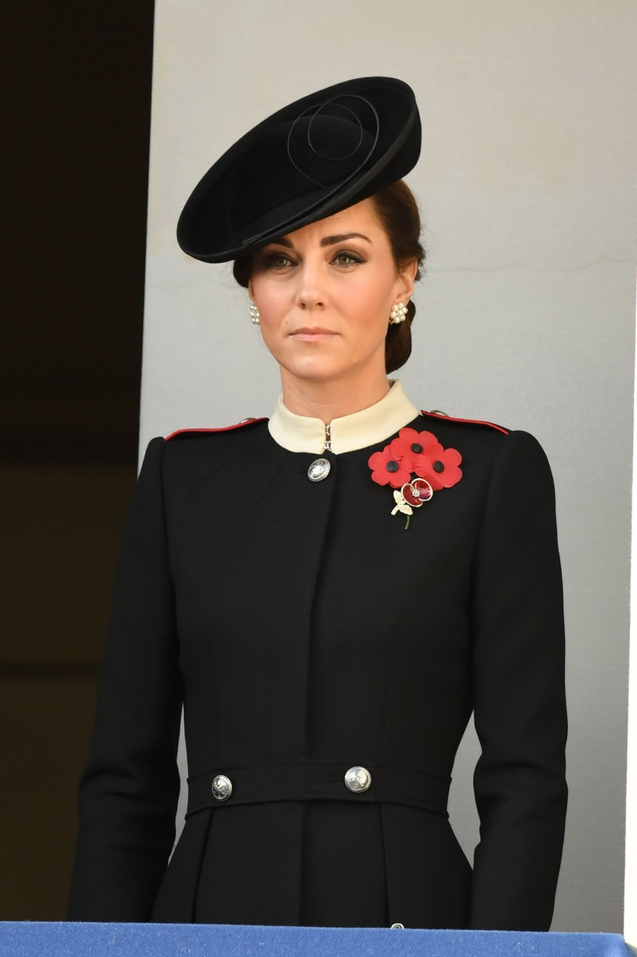 Kate Middleton Annual Remembrance Sunday Memorial In