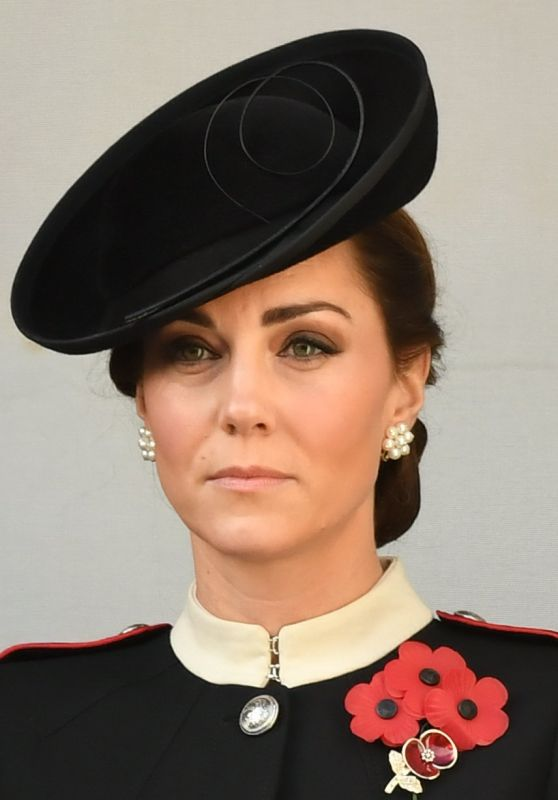 Kate Middleton - Annual Remembrance Sunday Memorial in London 11/11/2018