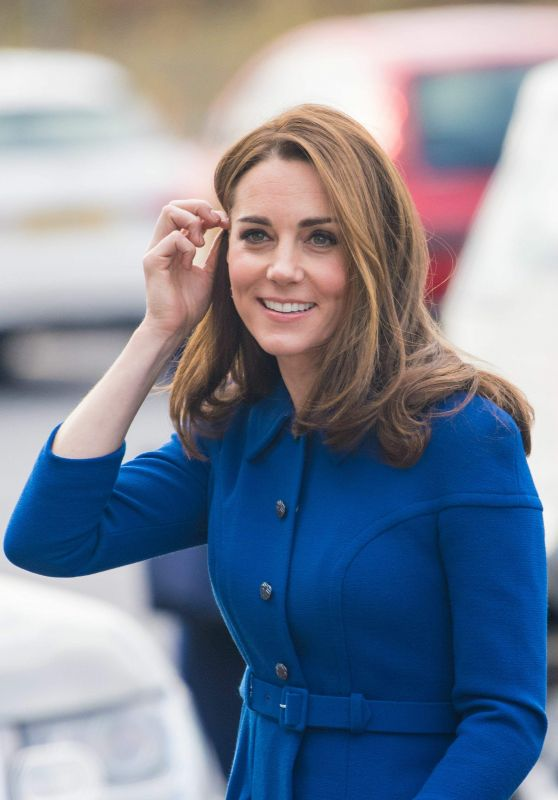 Kate Middleton at Centre in Rotherham, England 11/14/2018