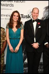 Kate Middleton - Tusk Conservation Awards in London 11/08/2018
