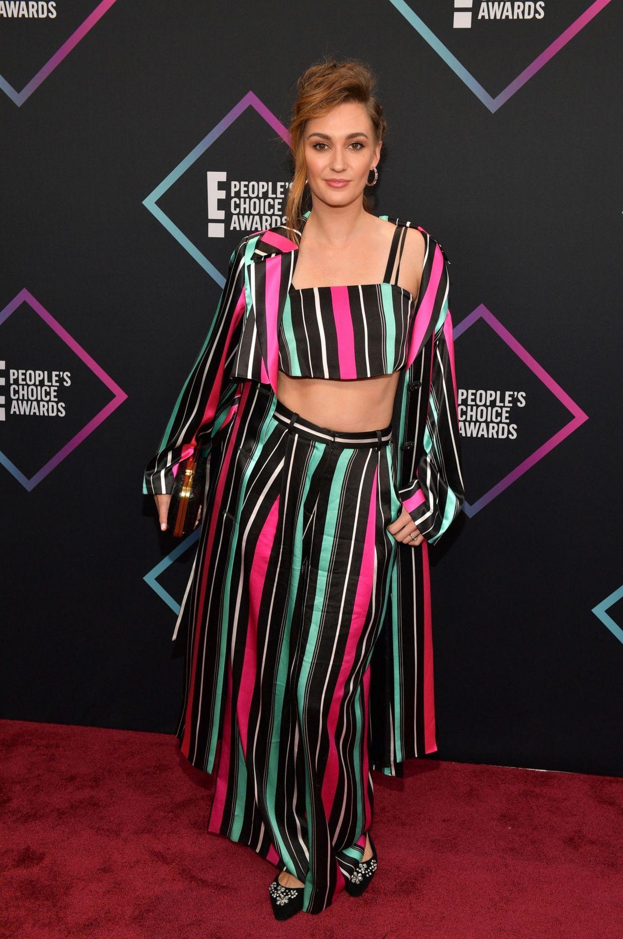 Katherine Barrell – People's Choice Awards 2018