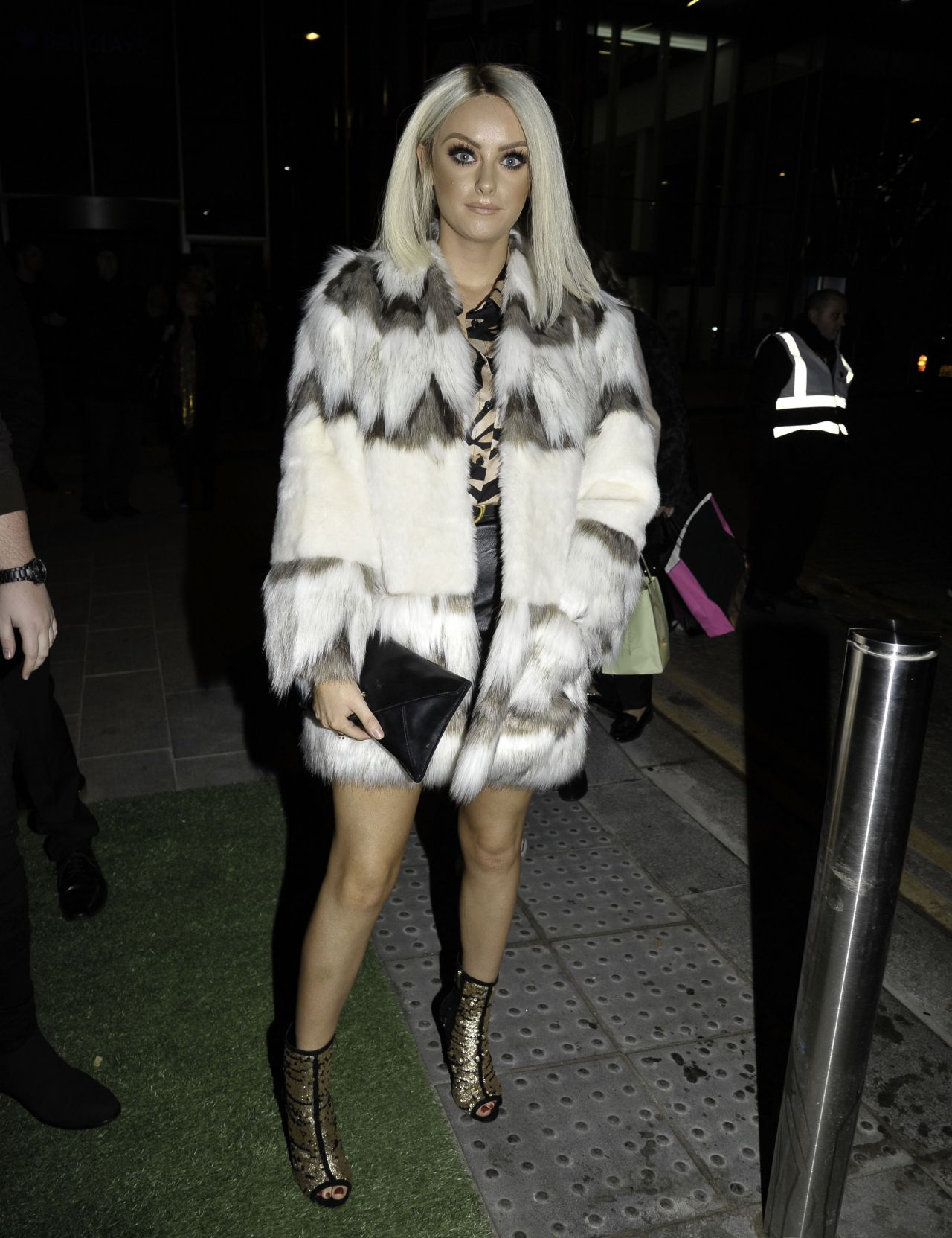 Katie Mcglynn The Ivy Spinningfield S Vip Launch Party