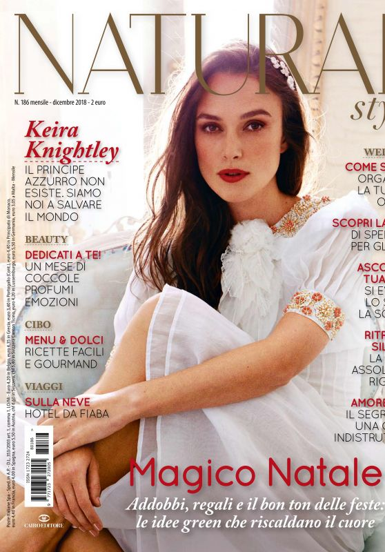 Keira Knightley - Natural Style December 2018 Issue