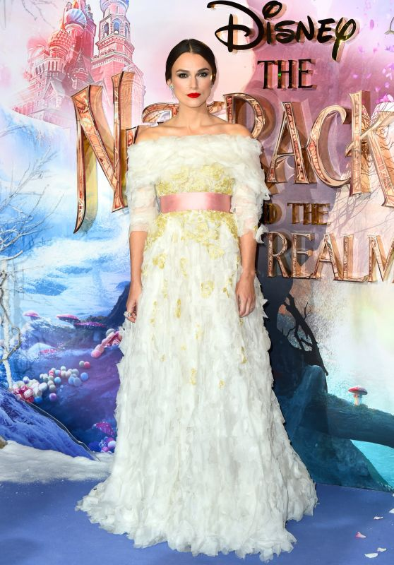 """Keira Knightley - """"The Nutcracker and the Four Realms"""" Premiere in London"""