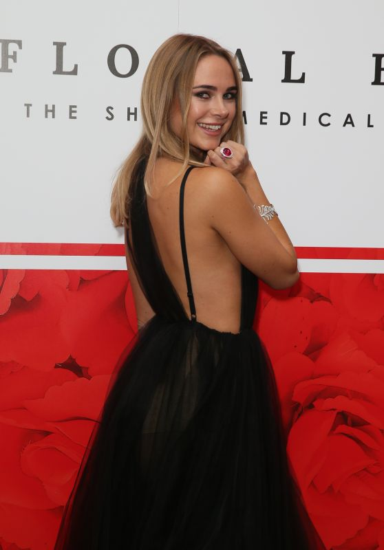 Kimberley Garner – The Sheba Floral Ball 2018 in London