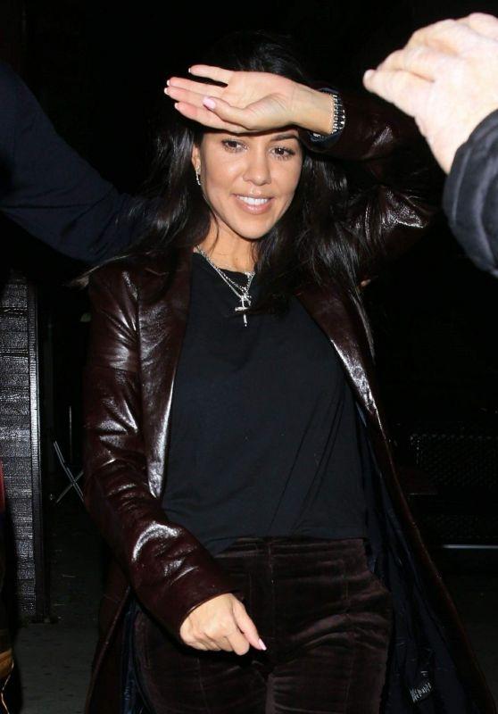 Kourtney Kardashian - Leaving Peppermint Club in West Hollywood 11/26/2018