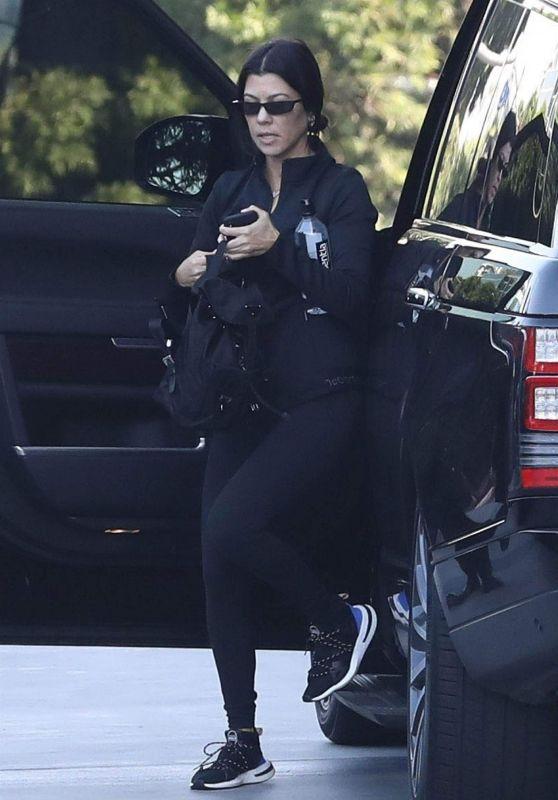 Kourtney Kardashian - Out in Beverly Hills 11/20/2018