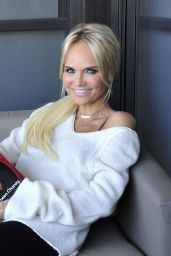Kristin Chenoweth - Backstage at The View in New York 11/15/2018