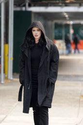 """Krysten Ritter - """"Jessica Jones"""" Season 3 Set in NYC 11/21/2018"""