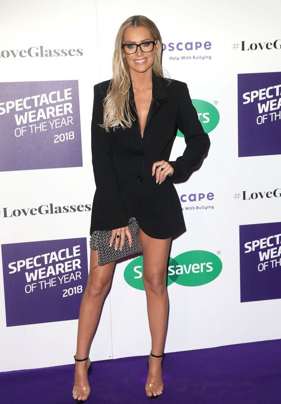 Laura Anderson - 2018 Specsavers Spectacle Wearer of the Year in London