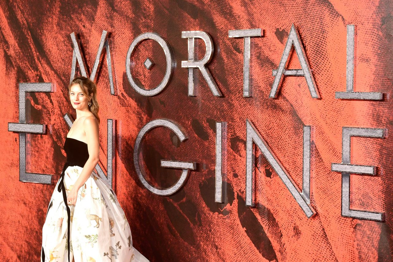 Leila George Mortal Engines Premiere In London