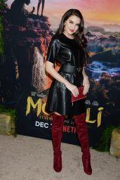"Lilimar Hernandez – ""Mowgli"" Premiere in Hollywood"