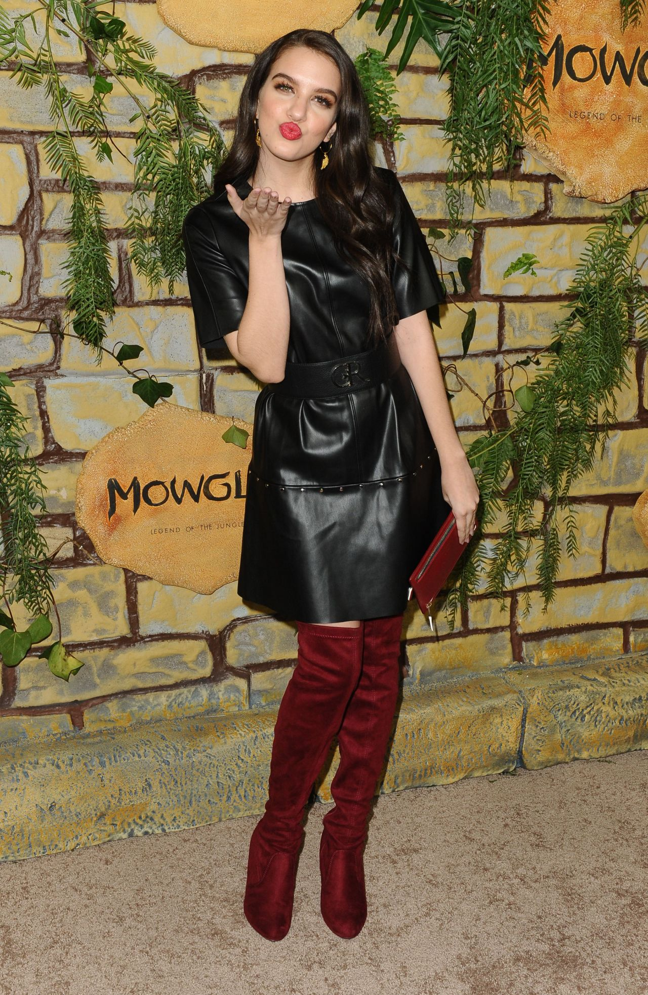 Lilimar Hernandez Mowgli Premiere In Hollywood