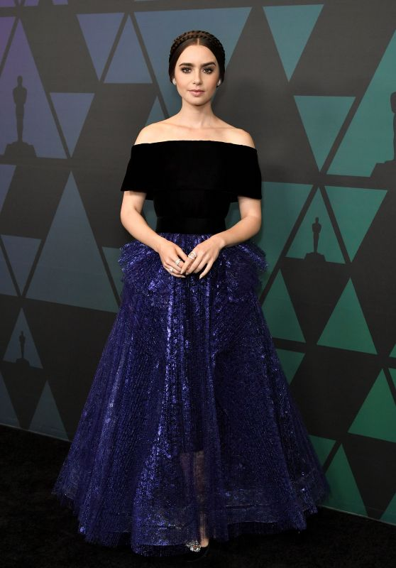 Lily Collins – 2018 Governors Awards