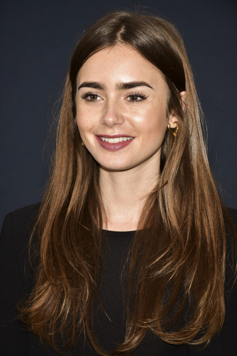 Lily Collins - Academy...