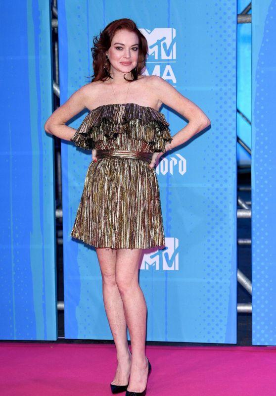 Lindsay Lohan – MTV EMA's 2018 in Bilbao