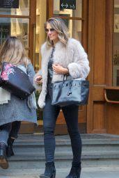 Liz Hurley - Shopping at Peter Jones in Chelsea 11/15/2018