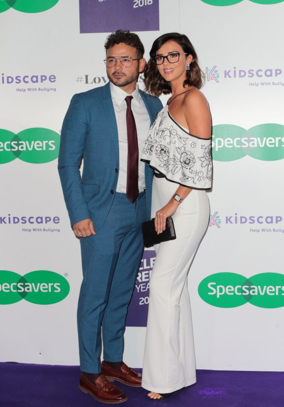 Lucy Mecklenburgh - 2018 Specsavers Spectacle Wearer of the Year in London