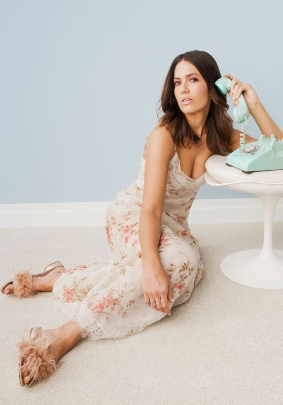 Mandy Moore - Photoshoot for Bustle 2018
