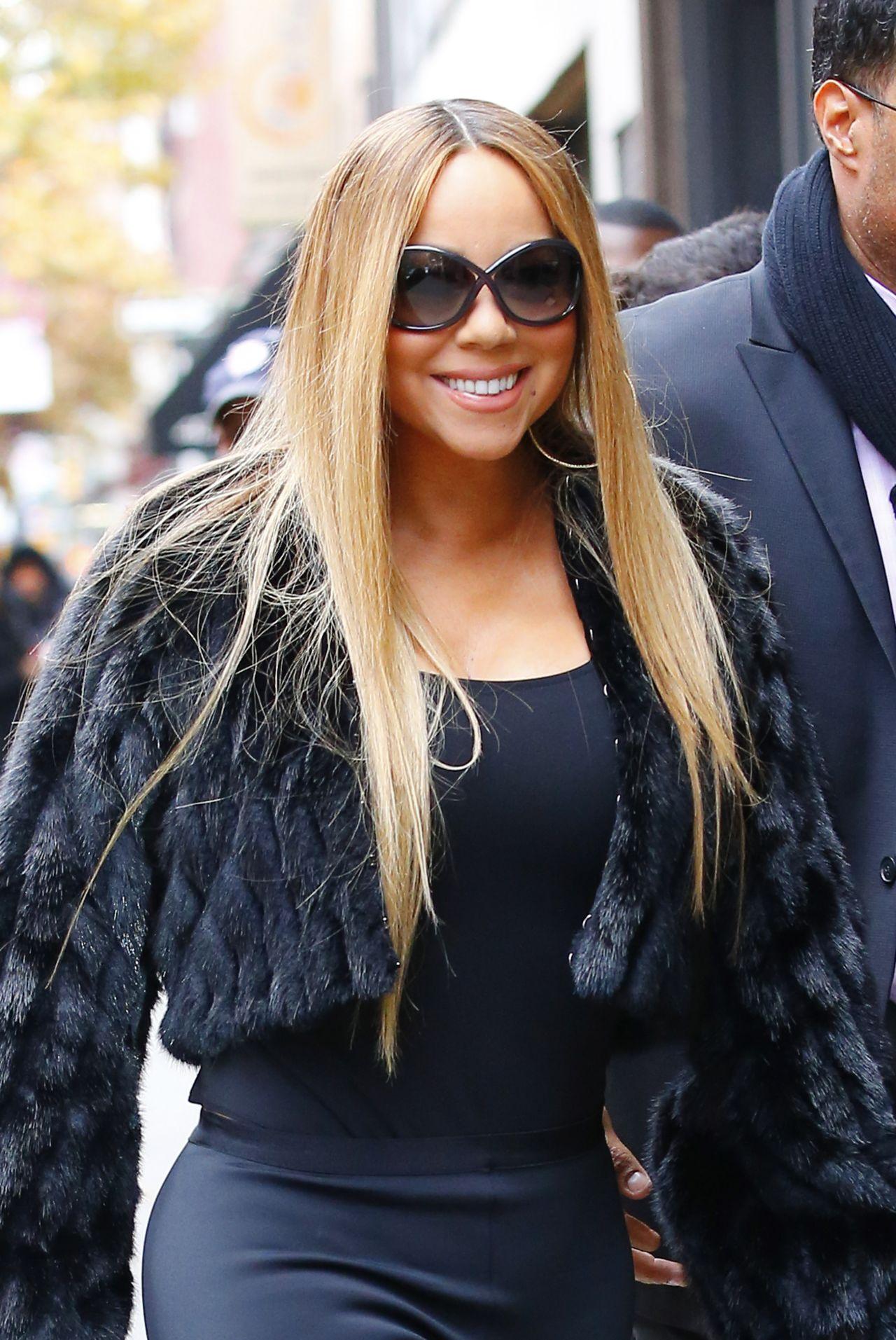 Mariah Carey - Leaves the Electric Lady Studios in NYC 11 ... Mariah Carey