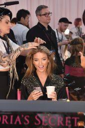 Martha Hunt – 2018 Victoria's Secret Fashion Show Backstage in NYC