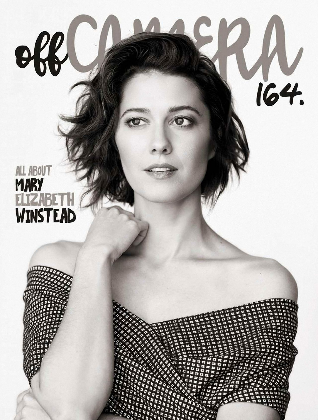 Mary Elizabeth Winstead Off Camera Photoshoot October 2018
