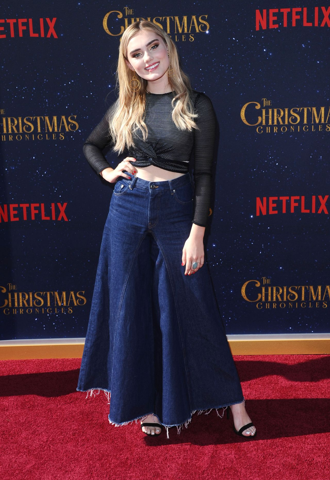 """Meg Donnelly – """"The Christmas Chronicles"""" Premiere in LA"""