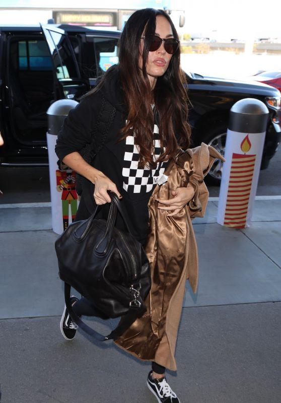 Megan Fox - Arrives at LAX Airport 11/26/2018
