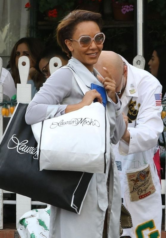 Melanie Brown - Goes to Church in Beverly Hills 11/18/2018