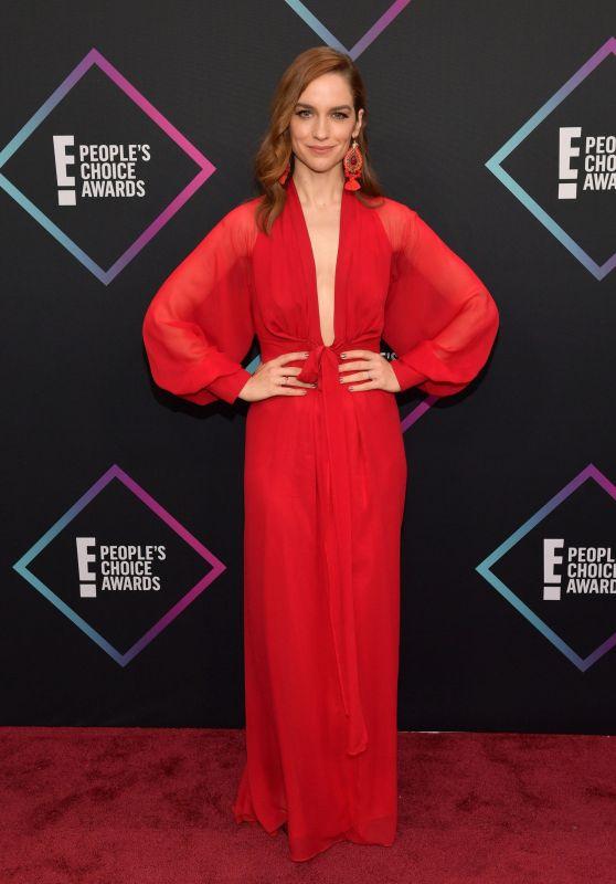 Melanie Scrofano – People's Choice Awards 2018