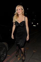 Melinda Messenger – Arrives at Phil Turner 50th Birthday Party in London