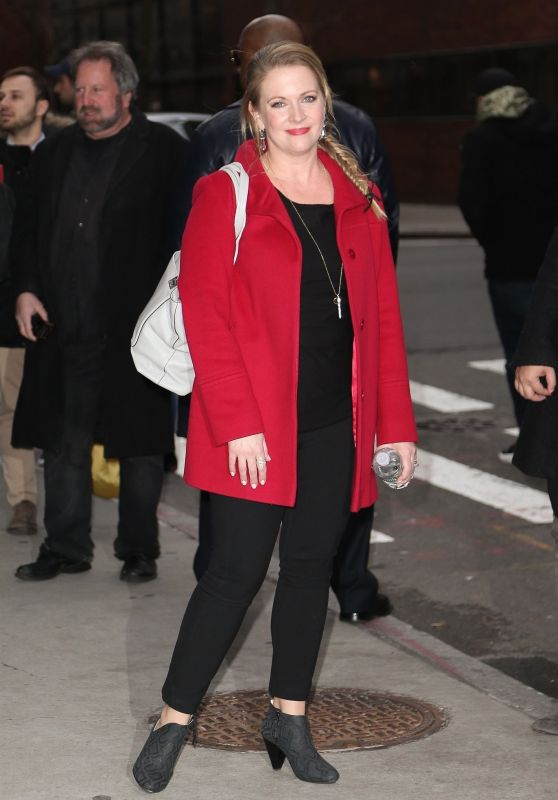 Melissa Joan Hart at BUILD Series in NYC 11/27/2018
