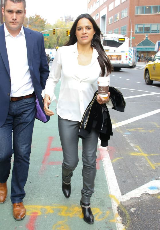 Michelle Rodriguez - Out in New York 11/12/2018