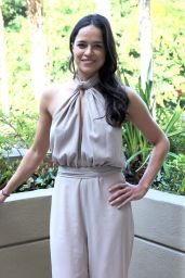 """Michelle Rodriguez - """"Widows"""" Press Conference in Los Angeles"""